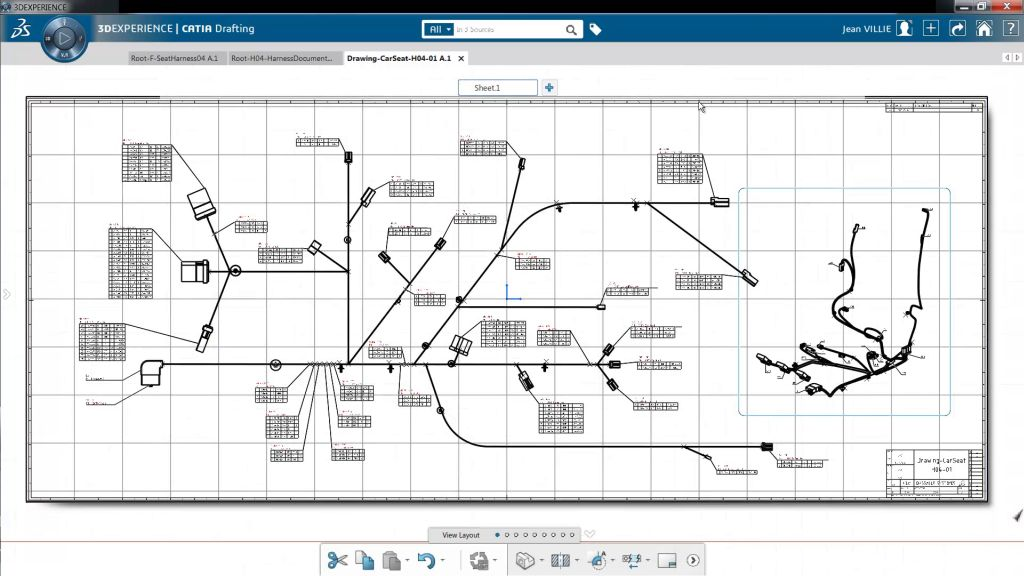 UXD_CATIA_EMP_3 electrical harness manufacturing engineer (emp) harness drawing at soozxer.org